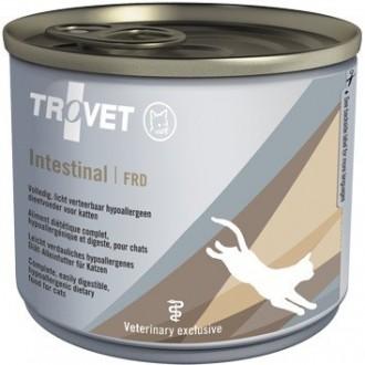 TROVET FRD Intestinal z rybą Cat  - puszka 190g