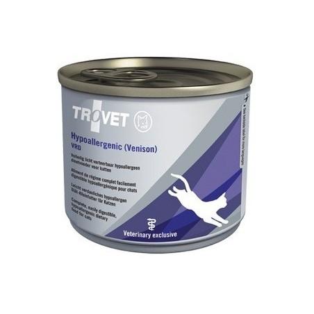 TROVET CAT VRD Hypoallergenic (Dziczyzna) - puszka