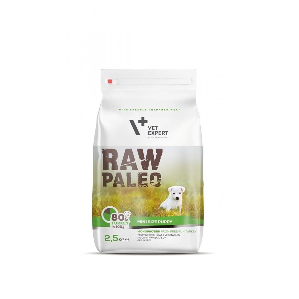 VET EXPERT RAW PALEO Small Size Puppy