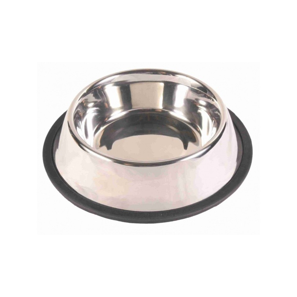 TRIXIE miska metalowa na gumowej podkładce 2485