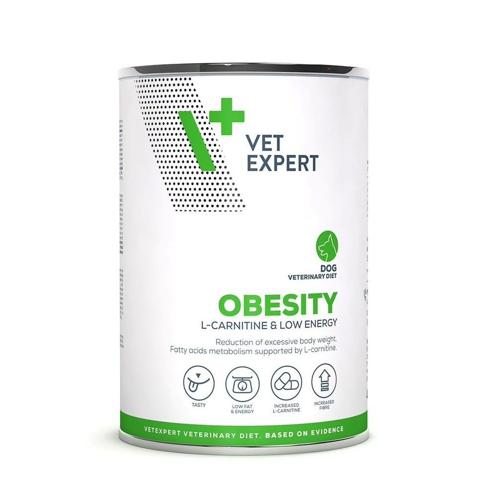 4T Veterinary Diet Dog Obesity - puszka