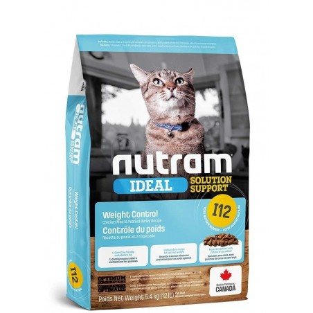 I12 Nutram Ideal Solution Weight Control Cat
