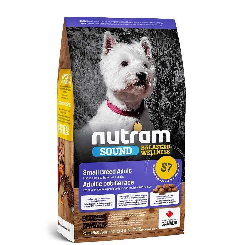 S7 Nutram Sound Adult Small Breed
