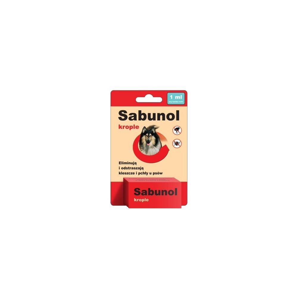 DR SEIDLA Sabunol - krople przeciw pchłom i kleszczom 4ml