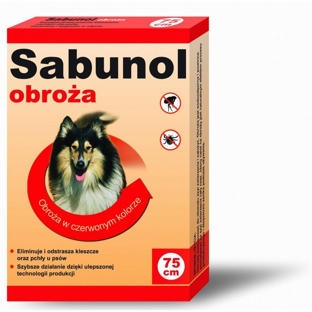 DR SEIDLA Sabunol - obroża przeciw pchłom i kleszczom 75cm