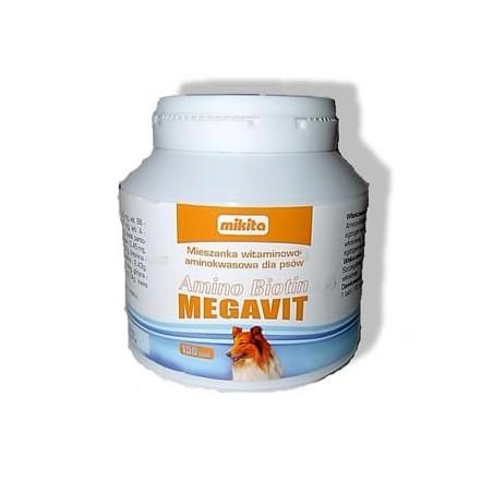 MIKITA Amino biotin megavit dla psów 150tabl.