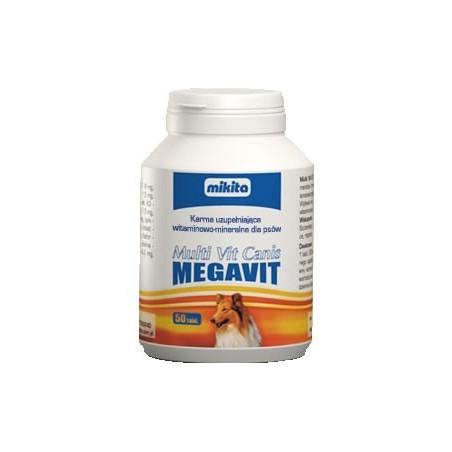 MIKITA Multi Vit Canis Megavit dla psów 150tabl.